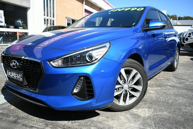 Used Hyundai i30 PD Active Narrabeen, 2017 Hyundai i30 PD Active Blue 6 Speed Auto Sequential Hatchback