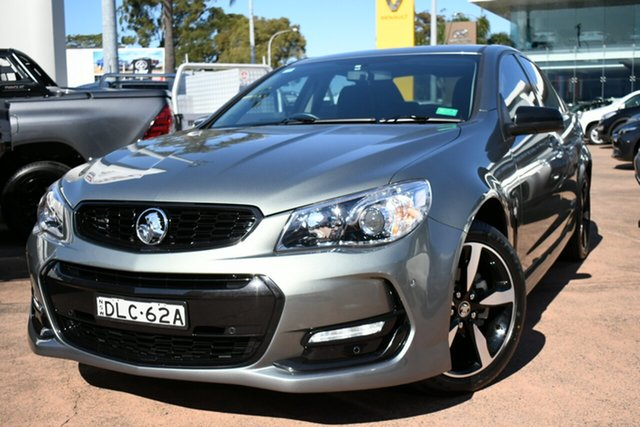 Used Holden Commodore Vfii MY16 SV6 Black Edition Brookvale, 2016 Holden Commodore Vfii MY16 SV6 Black Edition Grey 6 Speed Automatic Sedan