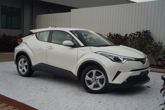 Used Toyota C-HR NGX10R S-CVT 2WD Cairns, 2019 Toyota C-HR NGX10R S-CVT 2WD White 7 Speed Constant Variable Wagon