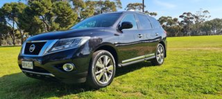 2017 Nissan Pathfinder R52 Series II MY17 Ti X-tronic 2WD Black 1 Speed Constant Variable Wagon.