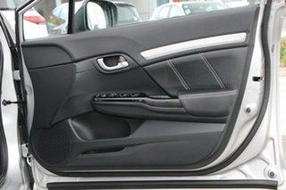 2015 Honda Civic 9th Gen Ser II MY15 Sport Silver 5 Speed Sports Automatic Sedan