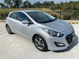 2016 Hyundai i30 GD4 Series II MY17 Active X Silver 6 Speed Sports Automatic Hatchback.