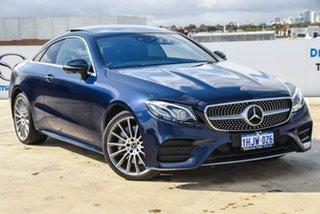 2017 Mercedes-Benz E-Class C238 808+058MY E400 9G-Tronic PLUS 4MATIC Blue 9 Speed Sports Automatic.