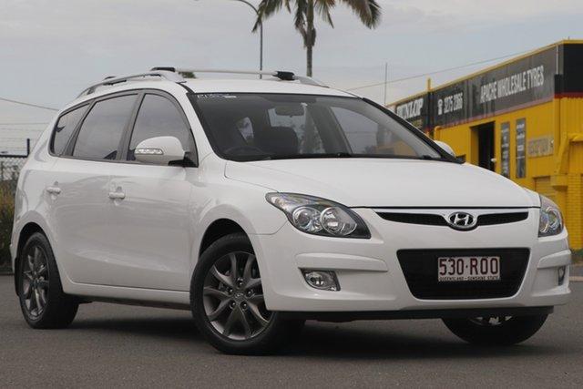 Used Hyundai i30 FD MY11 SLX cw Wagon Rocklea, 2011 Hyundai i30 FD MY11 SLX cw Wagon Ceramic White 4 Speed Automatic Wagon
