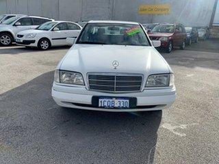 1997 Mercedes-Benz C200 W202 Classic White 5 Speed Automatic Sedan.
