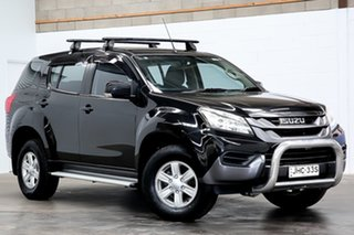 2014 Isuzu MU-X MY14 LS-M Rev-Tronic 4x2 Black 5 Speed Sports Automatic Wagon.
