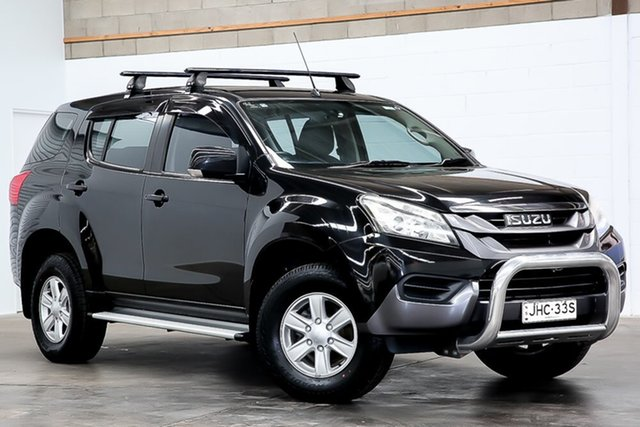 Used Isuzu MU-X MY14 LS-M Rev-Tronic 4x2 Erina, 2014 Isuzu MU-X MY14 LS-M Rev-Tronic 4x2 Black 5 Speed Sports Automatic Wagon
