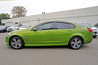 2015 Holden Commodore VF MY15 SV6 Green 6 Speed Manual Sedan