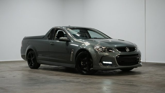 Used Holden Ute VF II MY16 SS Ute Welshpool, 2015 Holden Ute VF II MY16 SS Ute Prussian Steel 6 Speed Sports Automatic Utility