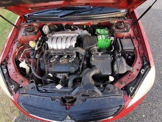 2005 Mitsubishi 380 DB Red 5 Speed Sports Automatic Sedan