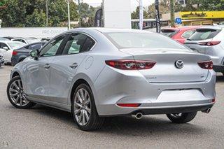 2021 Mazda 3 BP2S7A G20 SKYACTIV-Drive Evolve Silver 6 Speed Sports Automatic Sedan