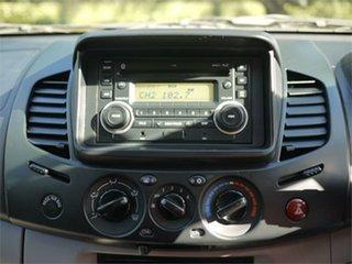 2010 Mitsubishi Triton MN MY10 GLX 4x2 Silver 4 Speed Automatic Cab Chassis