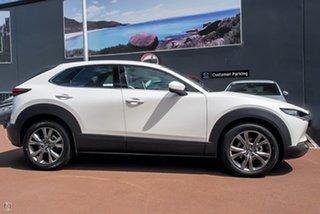 2021 Mazda CX-30 DM2WLA G25 SKYACTIV-Drive Astina White 6 Speed Sports Automatic Wagon