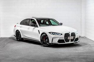 2020 BMW M3 G80 Competition M Steptronic White 8 Speed Sports Automatic Sedan.