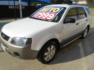 2006 Ford Territory SY SR White 4 Speed Sports Automatic Wagon.