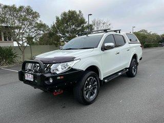 2016 Mitsubishi Triton MQ Exceed White 5 Speed Automatic Dual Cab.
