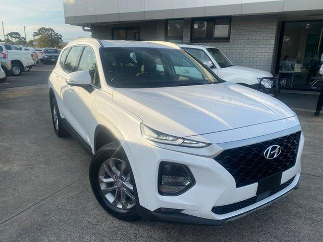 Used Hyundai Santa Fe TM MY19 Active Hillcrest, 2018 Hyundai Santa Fe TM MY19 Active White 8 Speed Sports Automatic Wagon