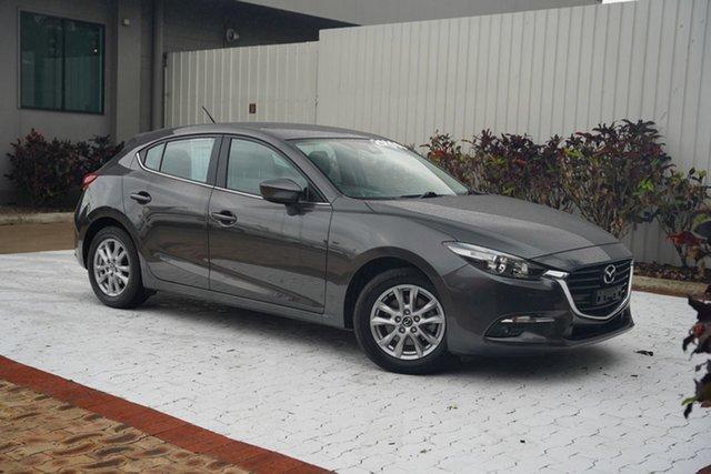 Used Mazda 3 BN5478 Touring SKYACTIV-Drive Cairns, 2018 Mazda 3 BN5478 Touring SKYACTIV-Drive Grey 6 Speed Sports Automatic Hatchback