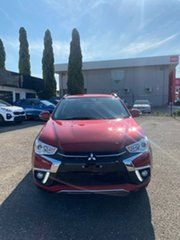 2019 Mitsubishi ASX XC MY19 ES 2WD ADAS Red 1 Speed Constant Variable Wagon.