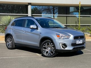 2015 Mitsubishi ASX XB MY15.5 LS 2WD Silver 6 Speed Constant Variable Wagon.