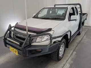 2015 Isuzu D-MAX MY15 SX Space Cab White 5 Speed Manual Cab Chassis.