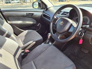 2013 Suzuki Swift FZ GA White 4 Speed Automatic Hatchback