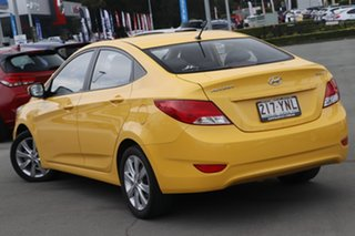 2018 Hyundai Accent RB6 MY18 Sport Yellow 6 Speed Sports Automatic Sedan.