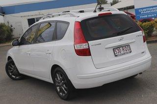 2011 Hyundai i30 FD MY11 SLX cw Wagon Ceramic White 4 Speed Automatic Wagon.