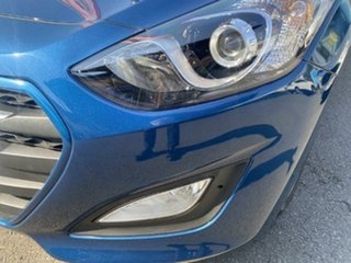 2015 Hyundai i30 GD4 Series II MY16 Active X Dazzling Blue 6 Speed Sports Automatic Hatchback