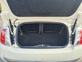 2014 Fiat 500C Series 1 Lounge Dualogic White 5 Speed Sports Automatic Single Clutch Convertible