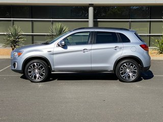 2015 Mitsubishi ASX XB MY15.5 LS 2WD Silver 6 Speed Constant Variable Wagon