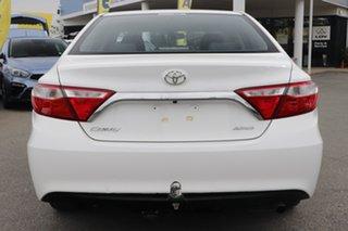 2017 Toyota Camry ASV50R Altise Diamond White/matching 6 Speed Sports Automatic Sedan