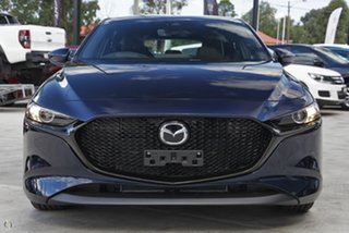 2021 Mazda 3 BP2H7A G20 SKYACTIV-Drive Touring Blue 6 Speed Sports Automatic Hatchback.