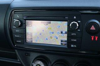 2019 Toyota Yaris NCP131R SX Glacier White 4 Speed Automatic Hatchback