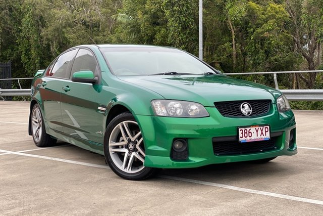 Used Holden Commodore Morayfield, 2010 Holden Commodore SV6 VE MY10 Green 6 Speed Auto Active Select Sedan