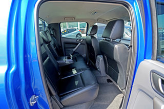 2017 Ford Ranger PX MkII XLT Double Cab Blue 6 Speed Sports Automatic Utility