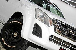 2017 Isuzu D-MAX TF MY17 SX HI-Ride (4x2) White 6 Speed Automatic Crew Cab Utility.