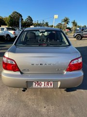 2005 Subaru Impreza S MY05 GX AWD Silver 4 Speed Automatic Sedan