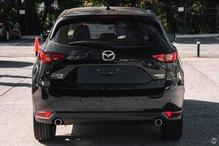 2021 Mazda CX-5 KF4WLA Akera SKYACTIV-Drive i-ACTIV AWD Black 6 Speed Sports Automatic Wagon.