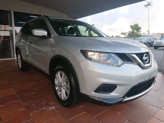 2015 Nissan X-Trail T32 ST (FWD) Silver Continuous Variable Wagon.