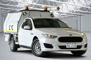 2016 Ford Falcon FG X (LPi) Winter White 6 Speed Automatic Cab Chassis.