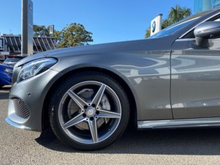 2016 Mercedes-Benz C200 205 MY17 Selenite Grey 9 Speed Automatic G-Tronic Cabriolet.