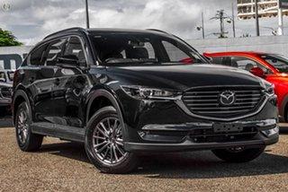 2021 Mazda CX-8 KG2WLA Touring SKYACTIV-Drive FWD Black 6 Speed Sports Automatic Wagon.