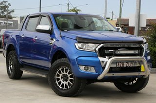 2018 Ford Ranger PX MkII 2018.00MY XLT Double Cab Blue 6 Speed Sports Automatic Utility.