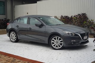 2015 Mazda 3 BM5238 SP25 SKYACTIV-Drive Charcoal 6 Speed Sports Automatic Sedan.