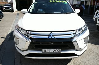 2018 Mitsubishi Eclipse Cross YA MY18 Exceed (2WD) White Continuous Variable Wagon