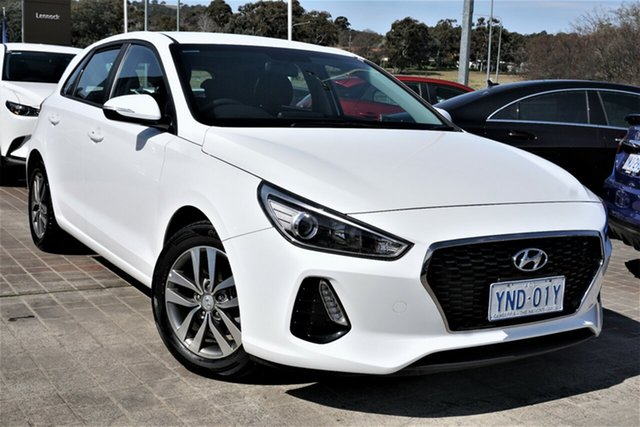 Used Hyundai i30 PD MY18 Active Phillip, 2017 Hyundai i30 PD MY18 Active White 6 Speed Sports Automatic Hatchback
