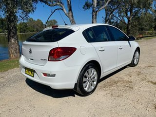 2016 Holden Cruze JH Series II MY16 Equipe White 6 Speed Sports Automatic Hatchback