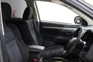 2017 Mitsubishi Outlander ZL MY18.5 ES 7 Seat (2WD) Silver Continuous Variable Wagon