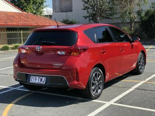 2014 Toyota Corolla ZRE182R Ascent Sport Red 6 Speed Manual Hatchback.